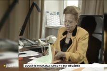 Capture écran : archives Lucette Michaux Chevry