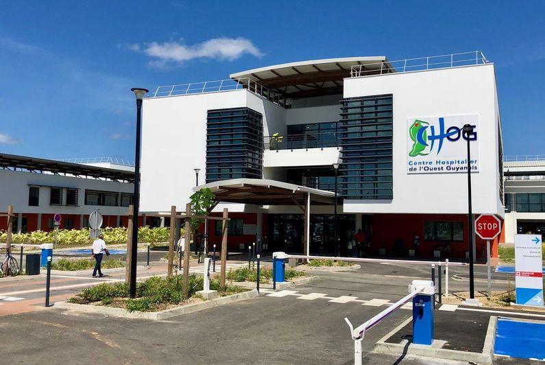 Saint-Laurent du Maroni : la grève du Centre hospitalier de l'ouest guyanais en suspens - Guyane la 1ère