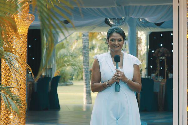 Rocaya, animatrice de Réunion La 1ère, et figure de l'émission Lamour Lé Dou.