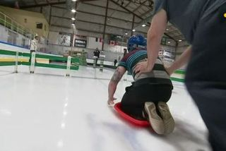 Jeux sur glace : les préparatifs !