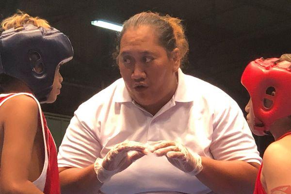 Boxe éducative à Fautauà
