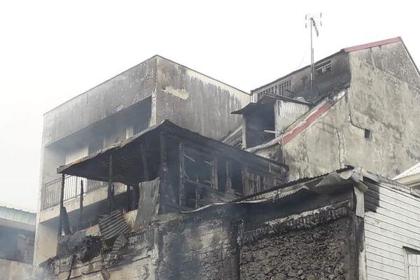 Incendie rue Victor Hugo 3