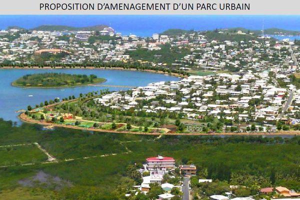 parc des 5 iles projet mairie