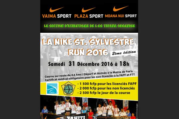 Top départ de la Nike Saint-Sylvestre Fun Run 2016