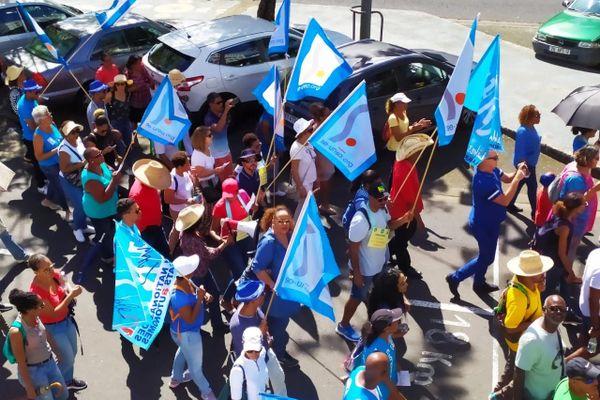 Se-UNSA défile le 16 janvier 2020