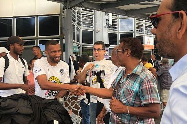 Les joueurs de la Saint-Pierroise sont de retour à La Réunion ce mardi 19 novembre.
