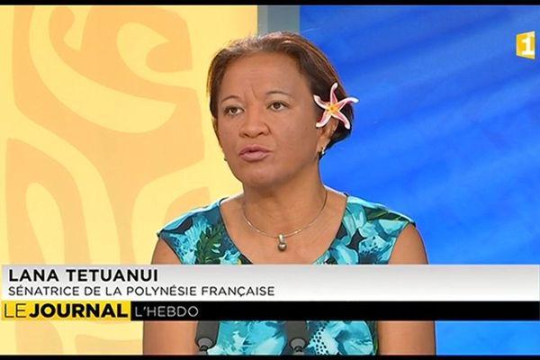 Lana Tetuanui était l'invitée de l'Hebdo. Elle a notamment réagit sur la loi sur la moralisation de la vie publique.