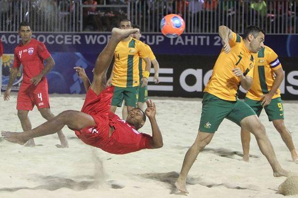beach soccer tahiti