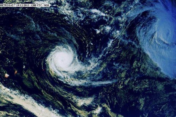 Amara est à 1255 km de La Réunion et menace Rodrigues