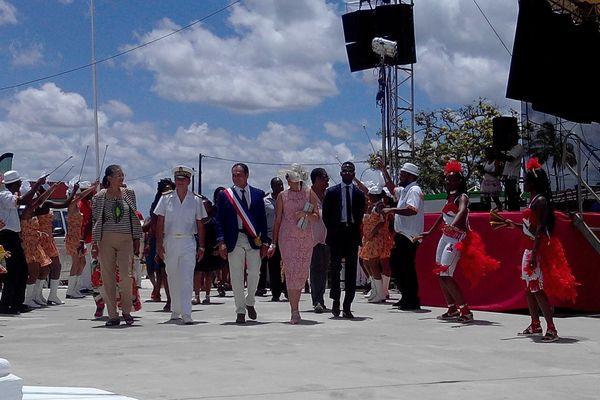 Inauguration de la fête patronale de Saint-Laurent