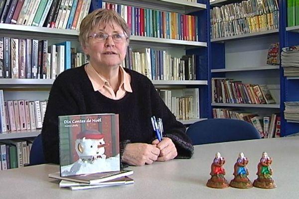 Andrée Lebailly interviewée en novembre 2011.