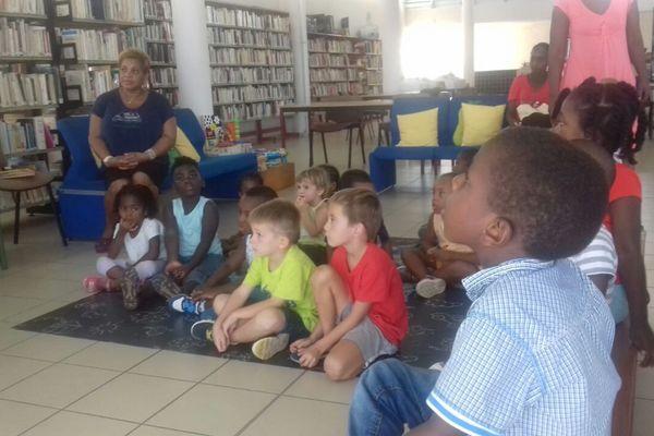 L'heure du Kont à la bibliothèque de Petit-Bourg