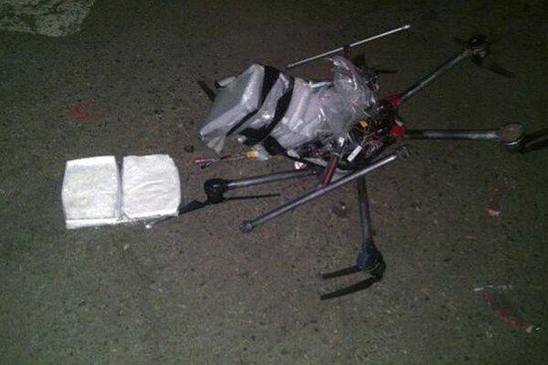 Mexique : un drone s'écrase trop chargé de drogue