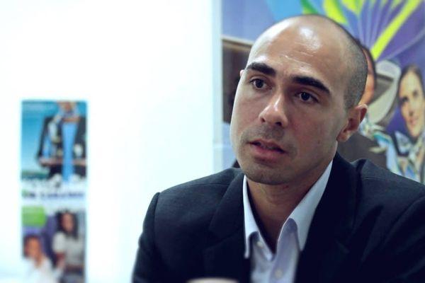 Yoann Paulin, directeur général délégué d'Air Caraïbes
