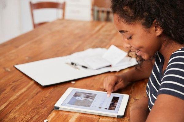 continuité pédagogique prêt de tablettes pour les collégiens fracture numérique 070420