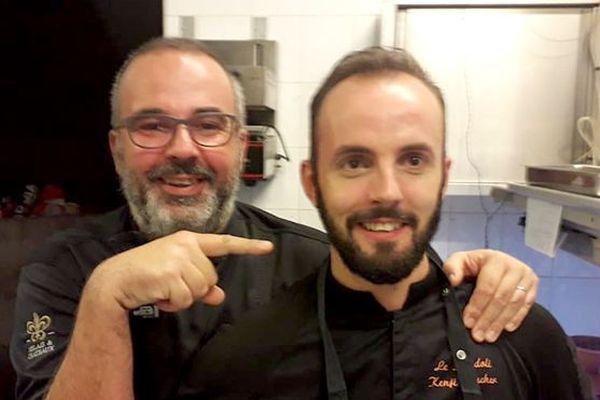 Nicolas Magie et Florent Boucher