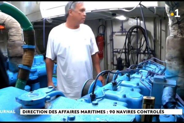 Les affaires maritimes à pied d'œuvre aux Iles Sous Le Vent