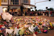 Hommage aux victimes des attaques.