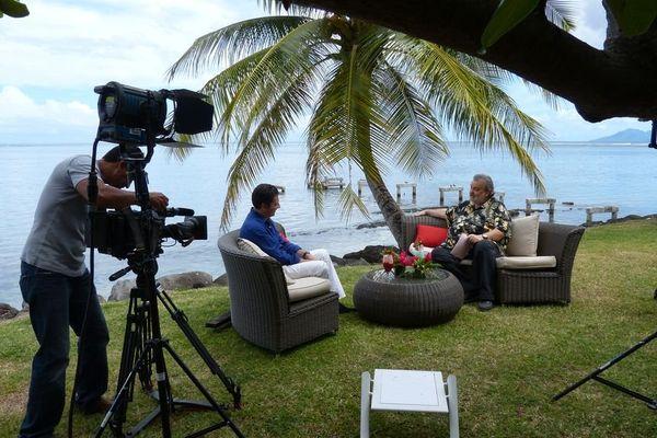 Laurent Gerra à Tahiti, et sur Polynésie 1ère TV - radio - internet 2