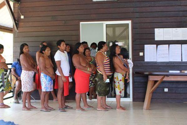 Election à Camopi