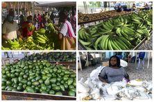 Le méga marché de produits locaux de Fort-de-France se termine ce samedi 9 Octobre 2021.