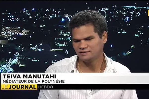 Teva Manutahi, médiateur de la Polynésie était l'invité du journal