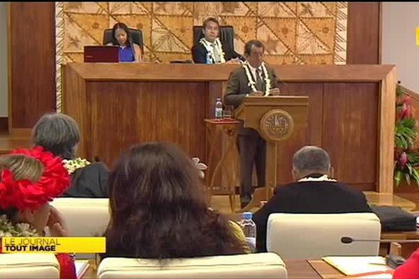 Echanges de discours pour l'ouverture de la session budgétaire