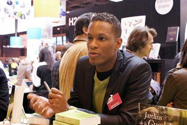 Alexandre Tellim au salon du livre