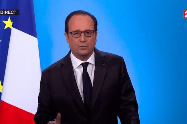 Hollande pas candidat