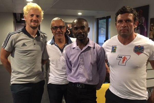 Les invités de Patrick Ramoudou - Atout sport
