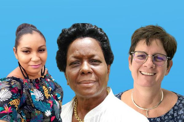 Cindy Lagier, Madeleine de Grandmaison et Blandine de Jaham