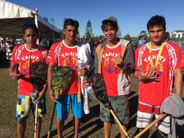 4 juniors Tahiti