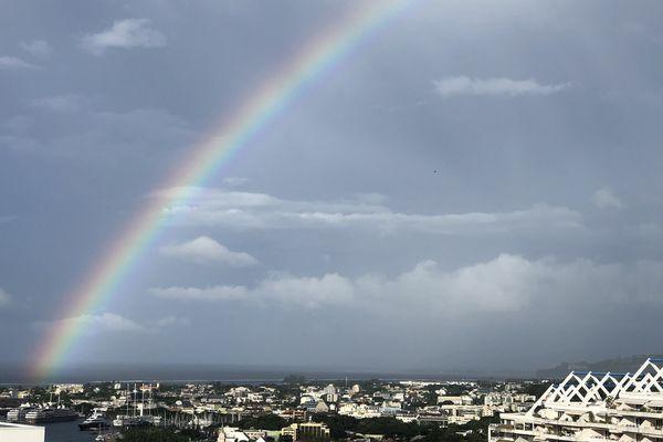 Ciel menaçant à Papeete