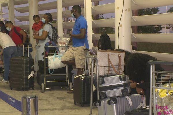 Passagers Guyanais à Pôle Caraïbes