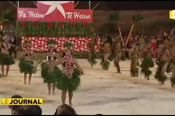 Les jeunes font le spectacle au Heiva de Bora Bora