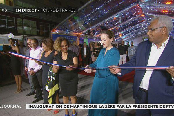 Inauguration Martinique la 1ère
