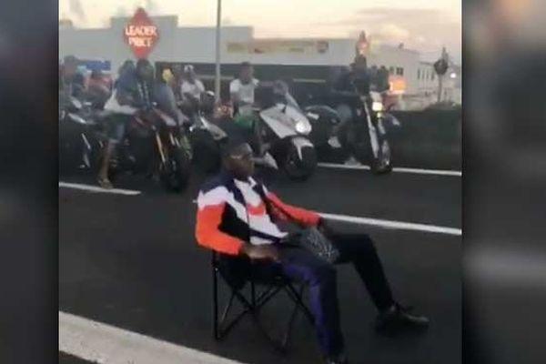 Capture d'écran du clip de Ninho