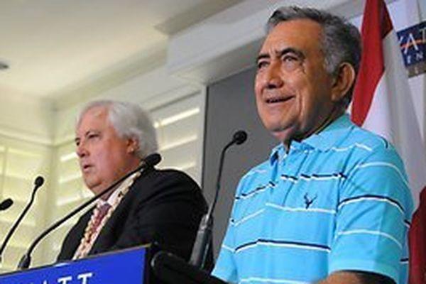 """Clive Palmer devait """"sauver"""" la Polynésie"""