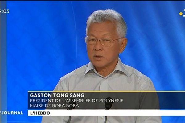Gaston Tong Sang , invité de l'hebdo