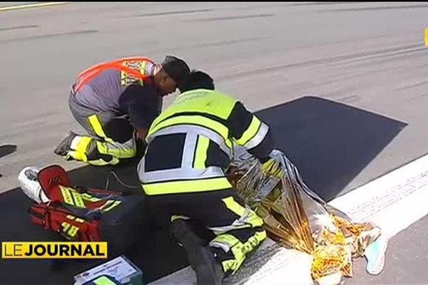 Les pompiers de Faaa, spécialistes en sécurité aérienne