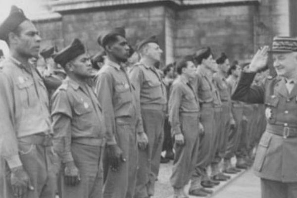 Le D-Day, aussi pour les Polynésiens
