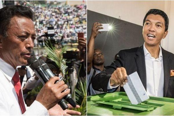 Rajoelina face à Ravalomanana au deuxième tour