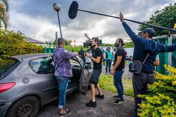 La veste 1 tournage court-métrage à la Réunion