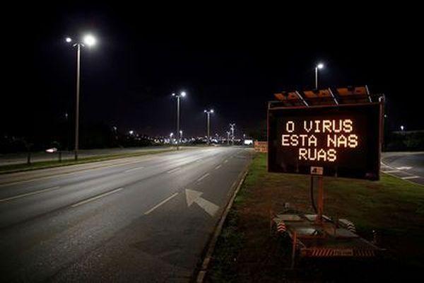 Brasilia désertée