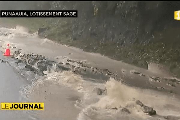 Intempéries : routes et servitudes inondées