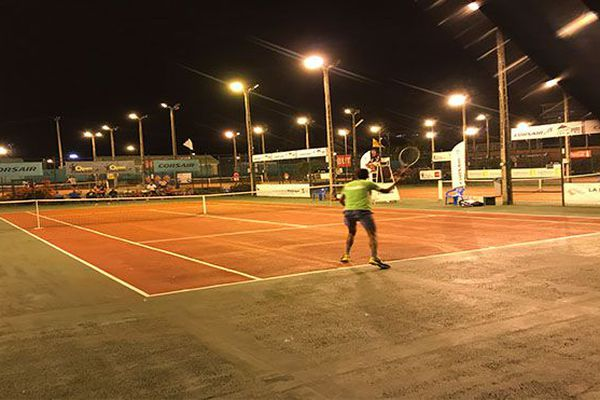 Tennis tournoi du country Club