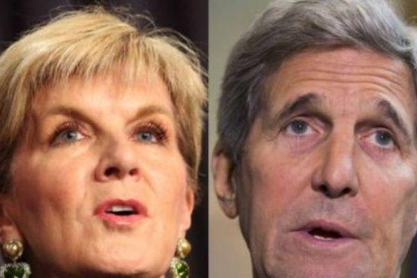 Une déclaration de Julie Bishop s'oppose aux commentaires de John Kerry