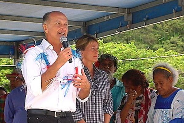 Meeting de campagne de Gaël Yanno au Port Plaisance