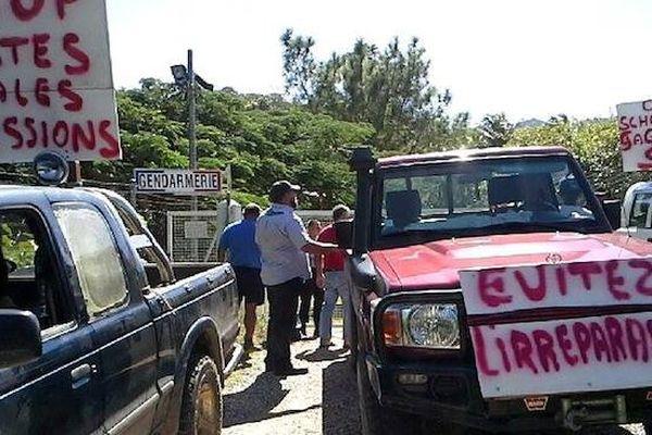 Manifestation à Ouégoa 170415
