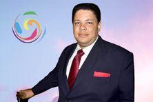 Laurent Cypria - président du Forum Territorial de la Jeunesse Martiniquaise.